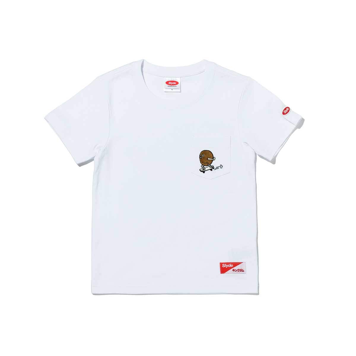 Slyde / KINGDOM KIDS TEN POCKET TEE WHITE 20SU-S_photo_large