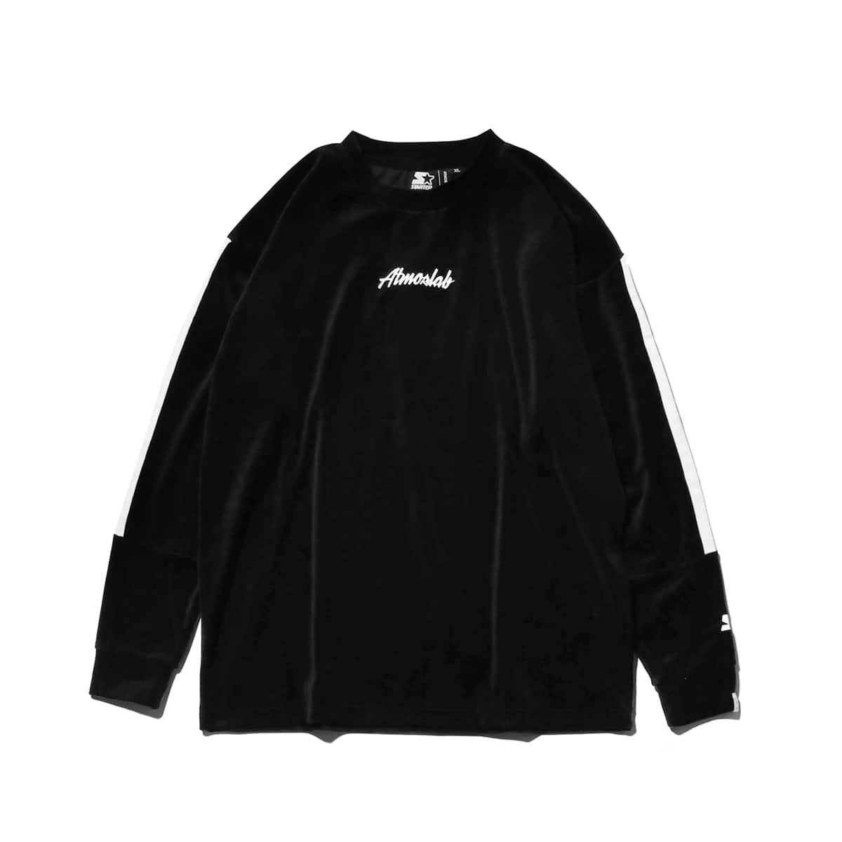 STARTER BLACK LABEL x ATMOS LAB WARM UP VELOUR LONG SLEEVE  white_photo_large