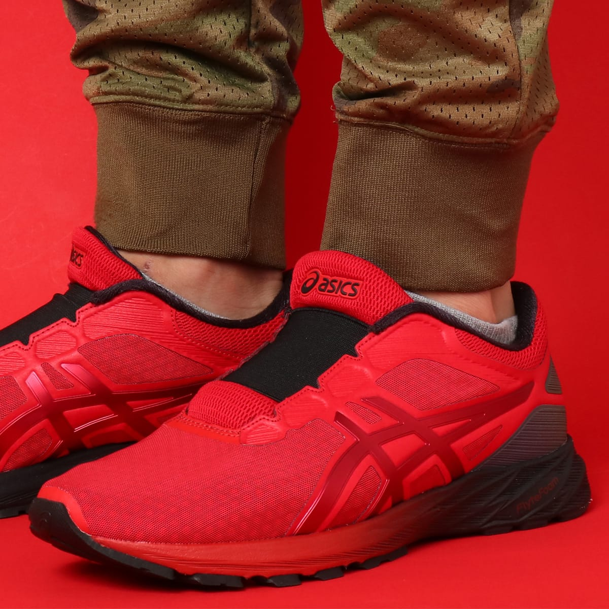 save off ecbff 8a037 asics DynaFlyte 2 THE INCREDIBLES RED
