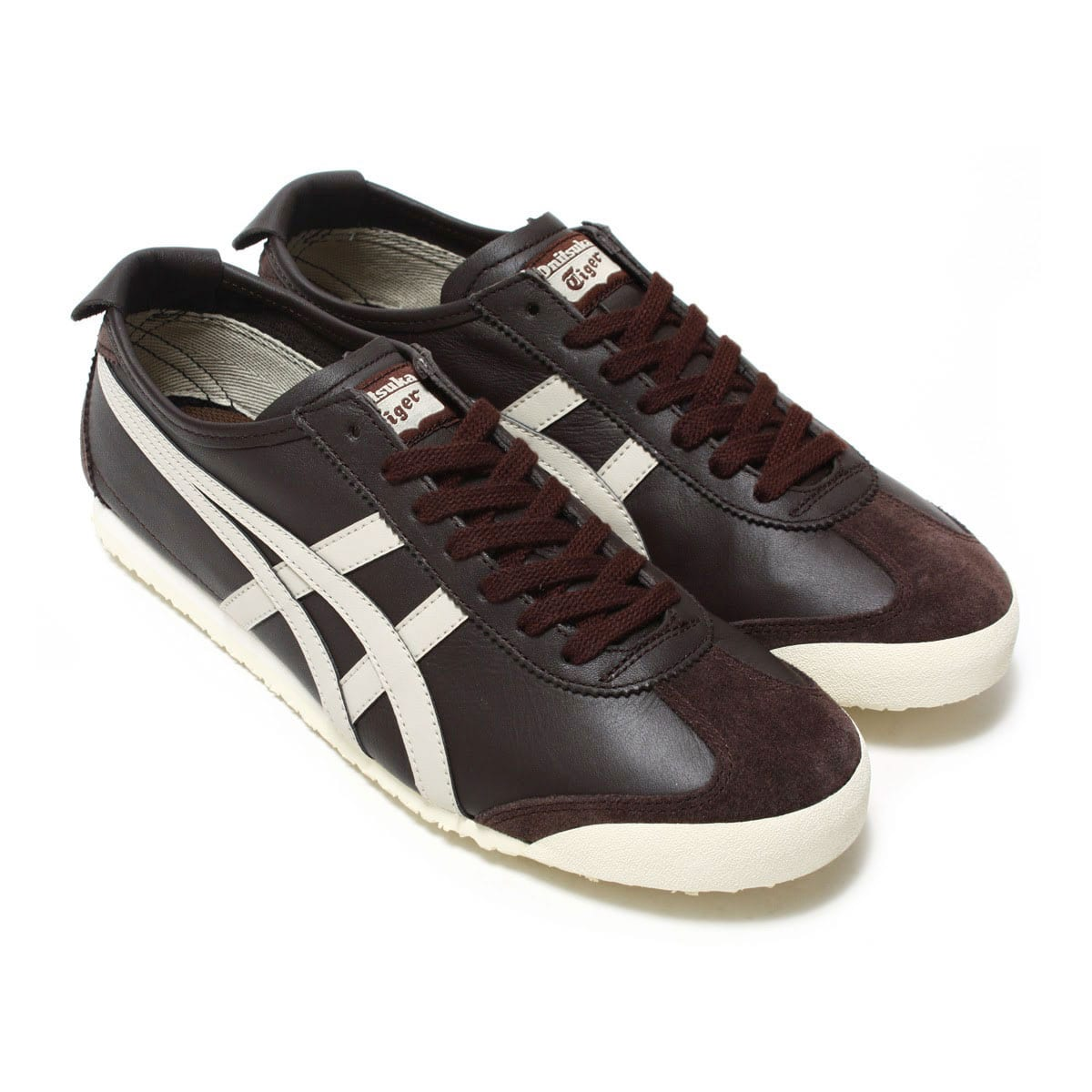 separation shoes cfaef 20fe4 Onitsuka Tiger MEXICO 66 COFFEE/FEATHER GREY