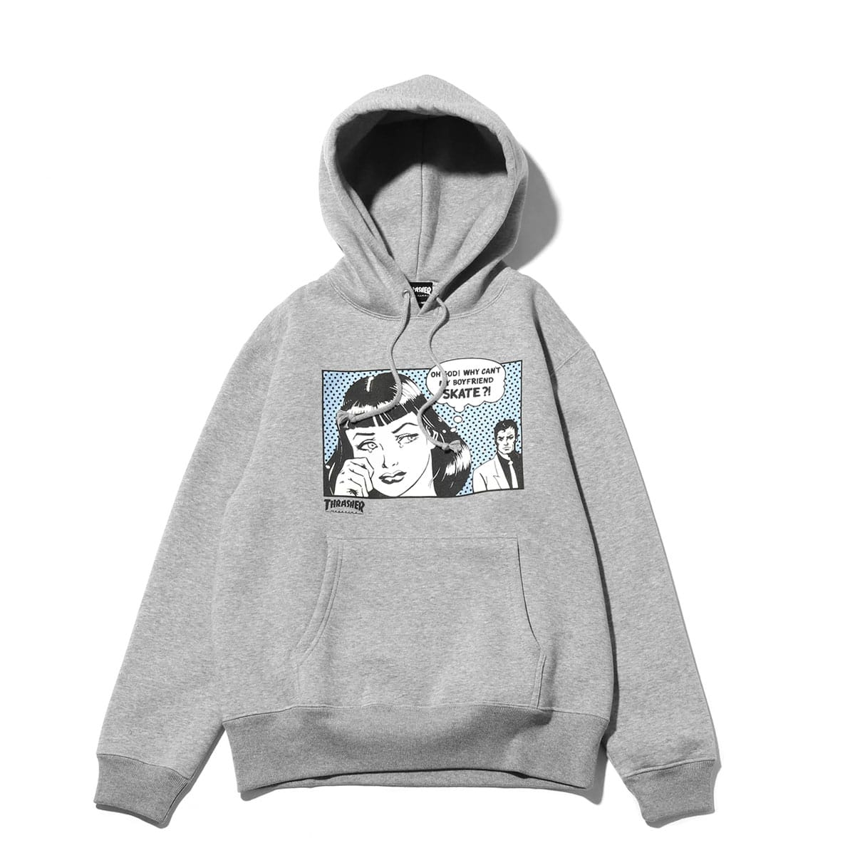 THRASHER BoyFriend HOODIE GRAY/HORIZON 18FW-I_photo_large