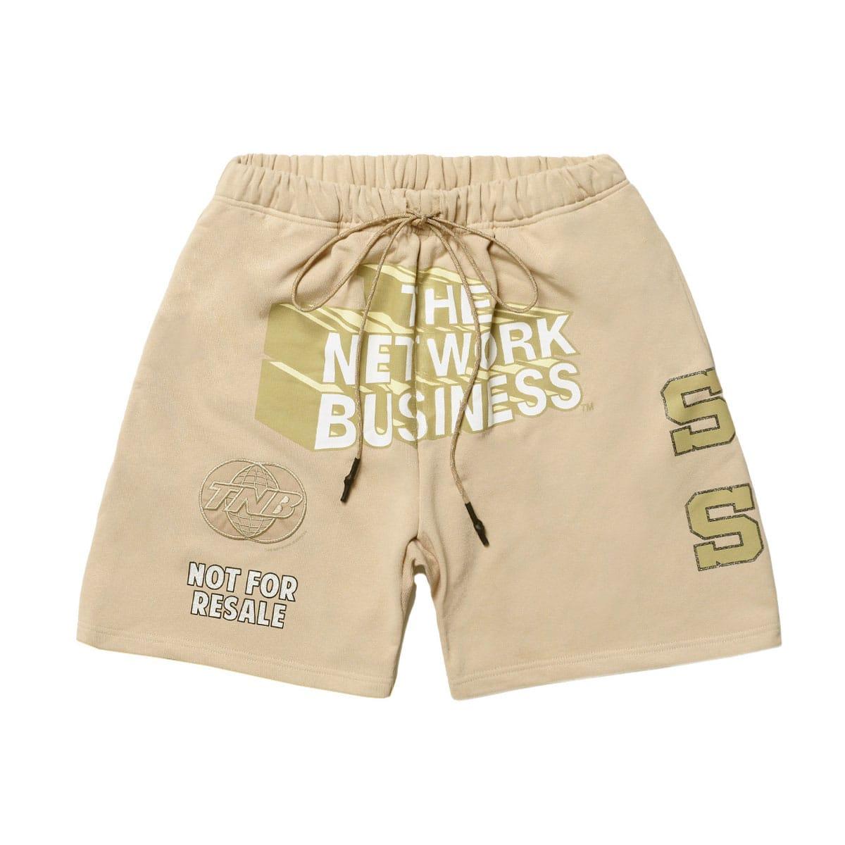 THE NETWORK BUSINESS Sweat Short Pants ベージュ 21SP-I_photo_large