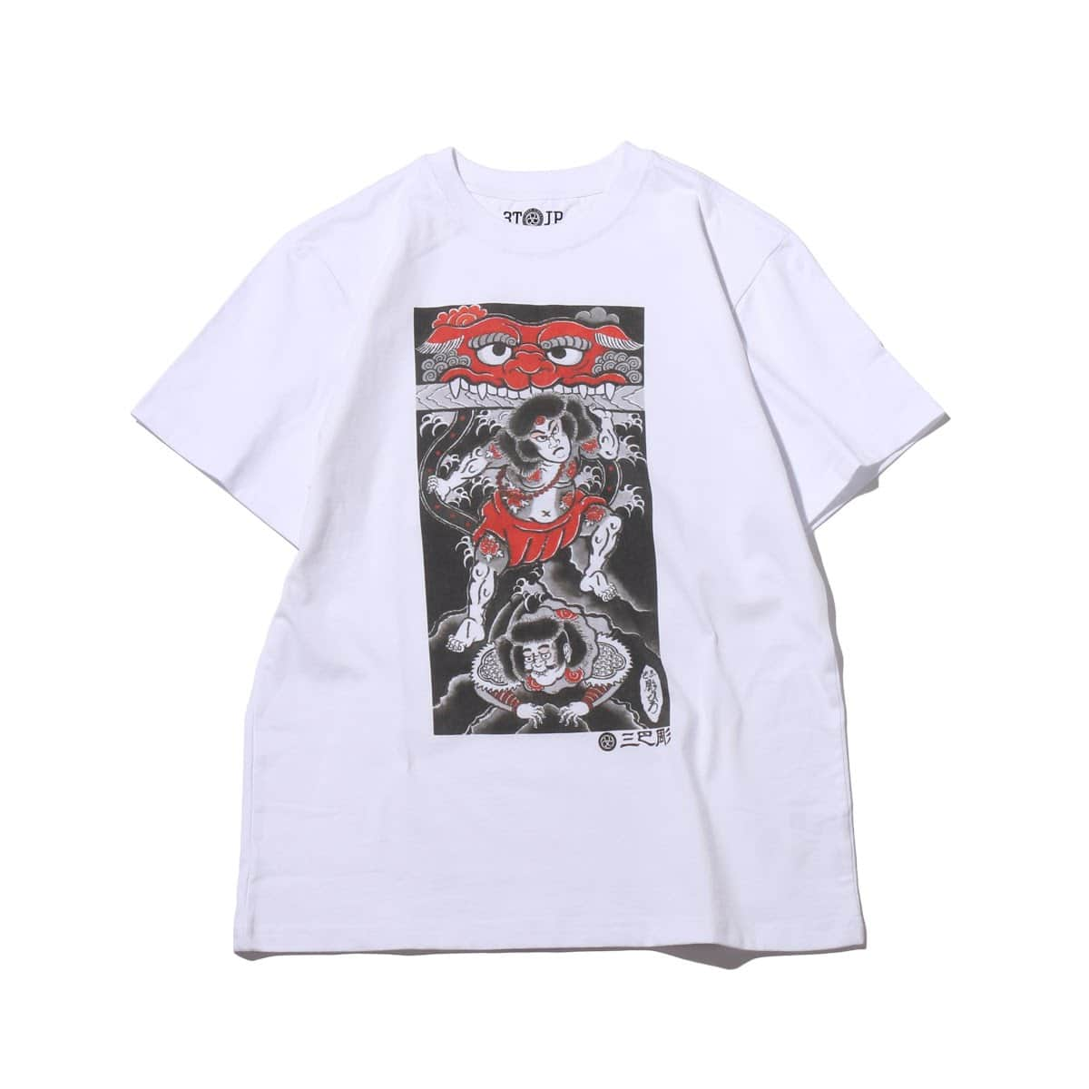 """UBIQ """"IREZUMI"""" T-SHIRT (kabuki)  Designed by HORIHIRO  WHITE_photo_large"""