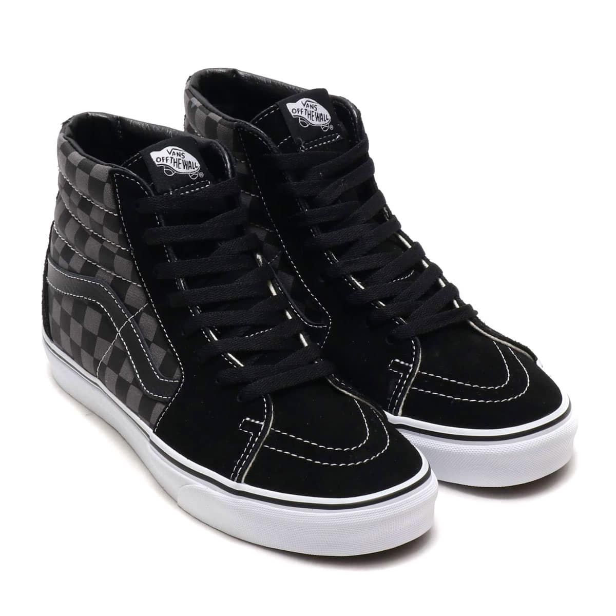 VANS SK8-HI BLACK/PEWTER CHECKERBOARD 19SP-I_photo_large