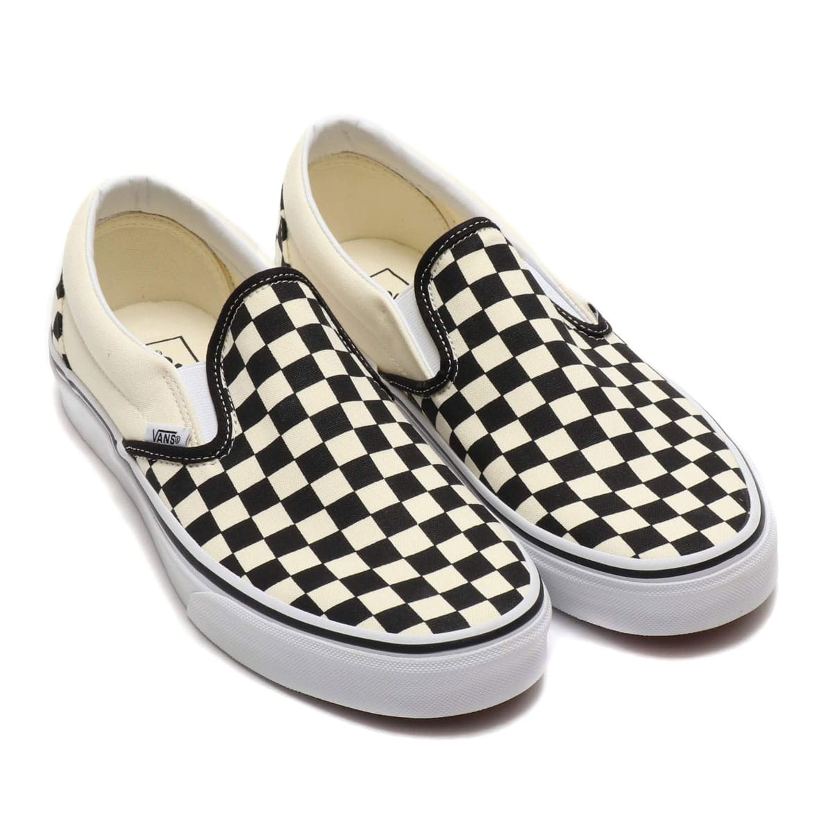 VANS UA CLASSIC SLIP-ON BLACK/WHITE 19SP-I_photo_large