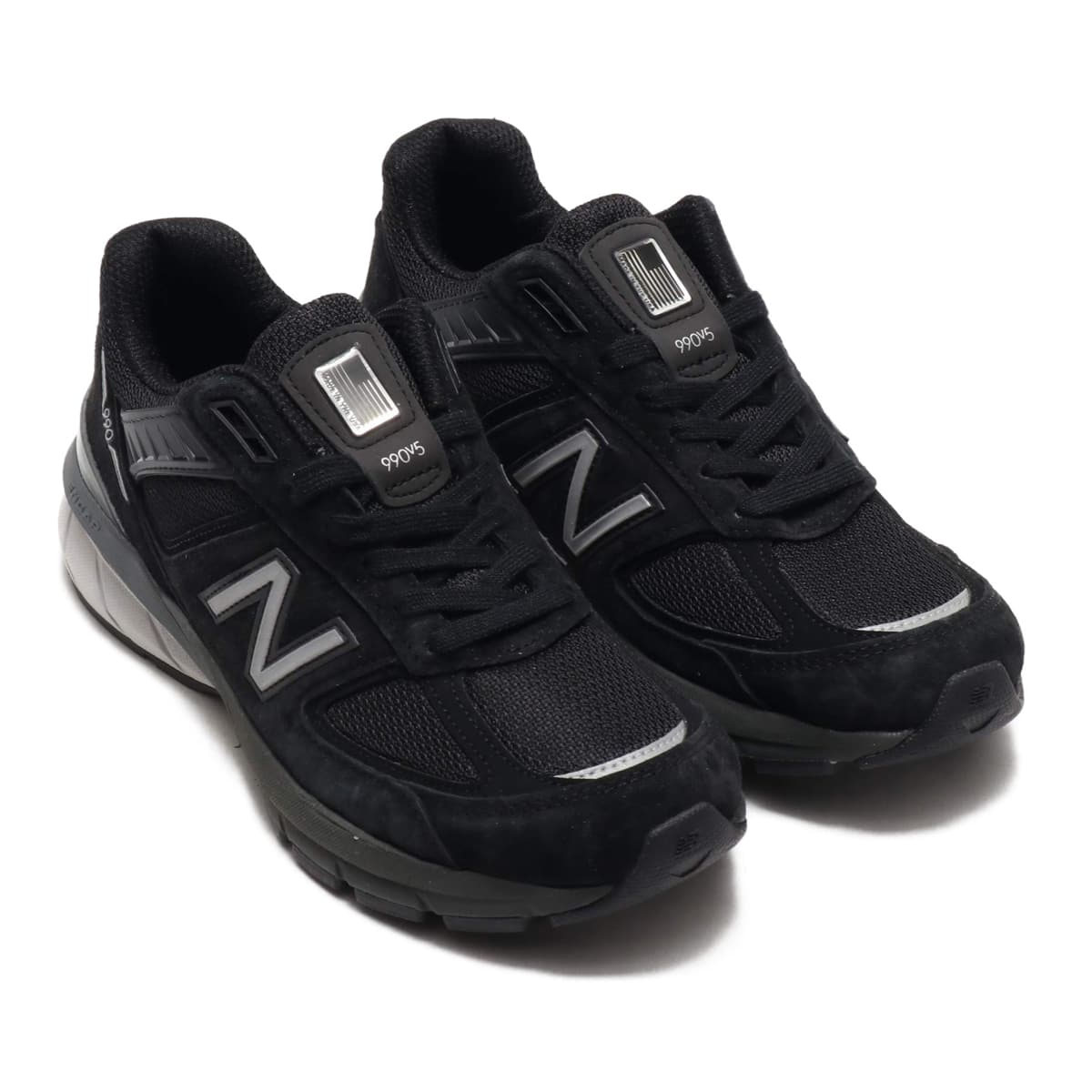 New Balance W990BK5 BLACK/SILVER 19SS-S_photo_large