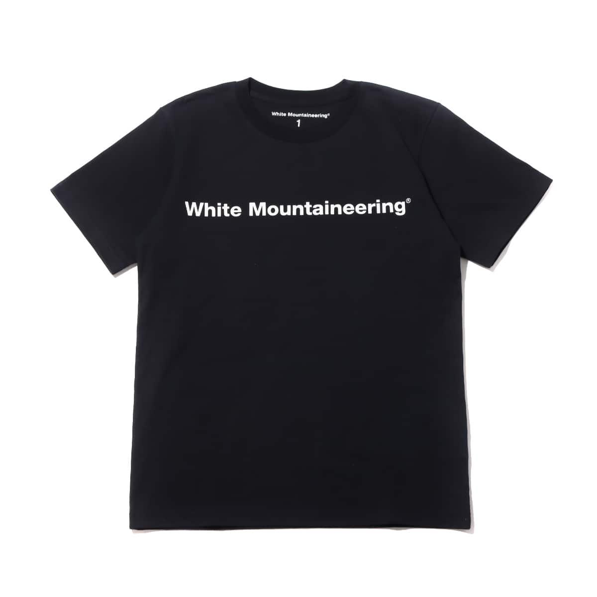 WHITE MOUNTAINEERING SIDE WM LOGO PRINTED T-SHIRT BLACK 21SP-I_photo_large