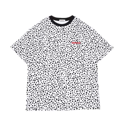 atmos pink ダルメシアン ロゴ Tシャツ
