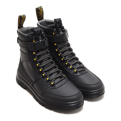 Dr.Martens TRACT COMBS TECH BLACK COATED CANVAS+ICEBERG WP+DUAL ORIGINAL