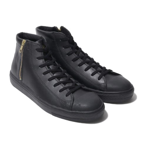 """CONVERSE ALL STAR COUPE LEATHER Z MID BLACK 19FW-S"""