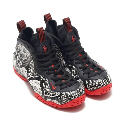 """NIKE AIR FOAMPOSITE ONE SAIL/BLACK-HABANERO RED-BLACK 19SU-S"""