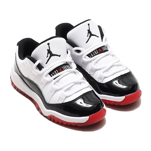 """""JORDAN BRAND JORDAN 11 RETRO LOW (PS) WHITE/UNIVERSITY RED-BLACK-TRUE RED 20SU-S"""""