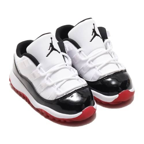 """""JORDAN BRAND JORDAN 11 RETRO LOW (TD) WHITE/UNIVERSITY RED-BLACK-TRUE RED 20SU-S"""""
