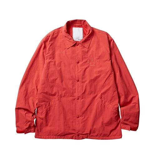 """""""LIBERAIDERS OVERDYED COACH JACKET RED 19FW-I"""""""