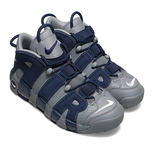 NIKE AIR MORE UPTEMPO '96 COOL GREY/WHITE-MIDNIGHT NAVY 21FA-I