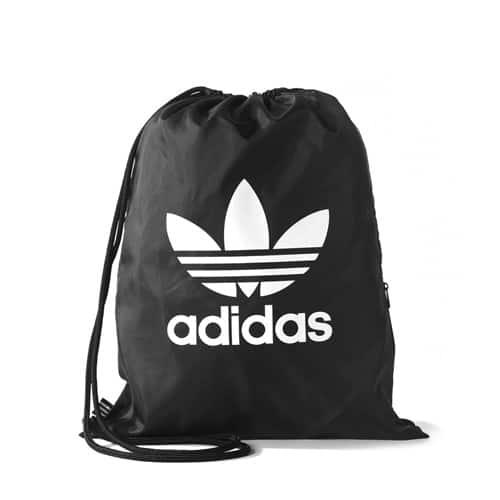 """adidas Originals GYMSACK TREFOIL  BLACK"""