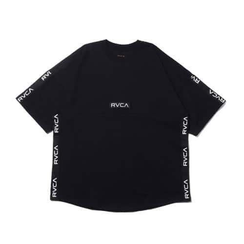 """""""RVCA ARCH RVCA TAPE S/S BLACK 19FA-I"""""""