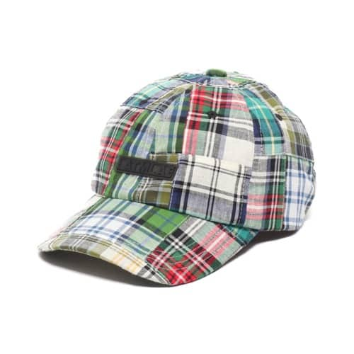 """ATMOS LAB PATCHWORK 6 PANEL CAP GREEN 19SP-I"""