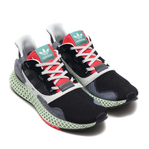 """adidas ZX 4000 4D Core Black/Onix/Running White 19SS-S"""