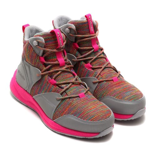 """Columbia x atmos SH/FT OUTDRY BOOT Fiery Red, Pink Glo 19FA-S"""