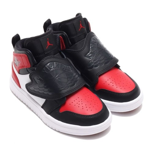 """""JORDAN BRAND SKY JORDAN 1 (PS) BLACK/ANTHRACITE-VARSITY RED-WHITE 20FA-I"""""