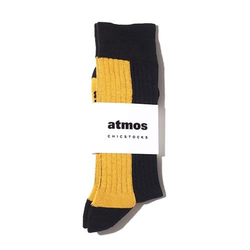 """""""atmos x CHICSTOCKS 1985 RIB SOCKS"""""""