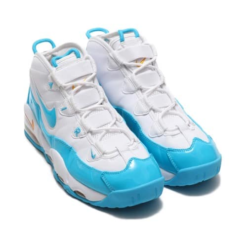 """""""NIKE AIR MAX UPTEMPO '95 WHITE/BLUE FURY-CANYON GOLD 19SU-S"""""""