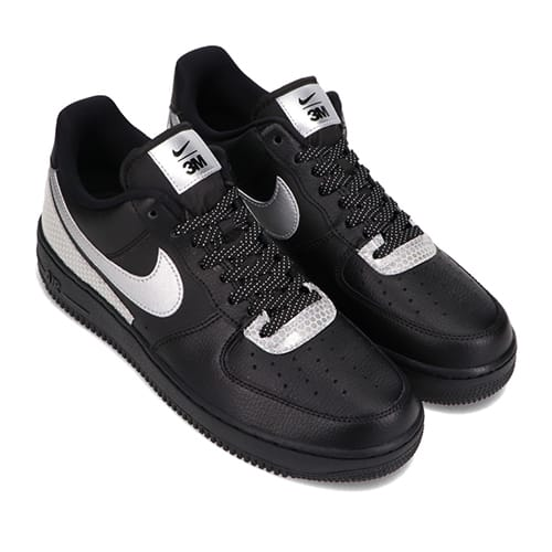 NIKE AIR FORCE 1 '07 LV8 3M BLACK/METALLIC SILVER-BLACK 20HO-I