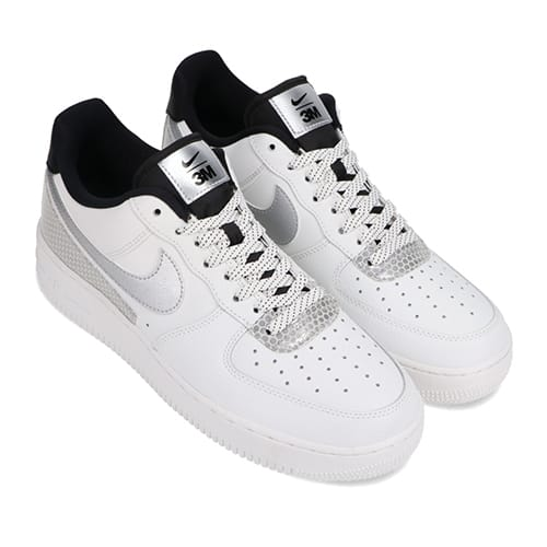 NIKE AIR FORCE 1 '07 LV8 3M SUMMIT WHITE/SUMMIT WHITE-BLACK 20HO-I