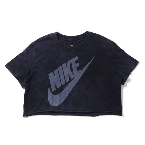 """""NIKE AS W NSW TEE WASH FUTURA CROP BLACK/WHITE 20SU-I"""""