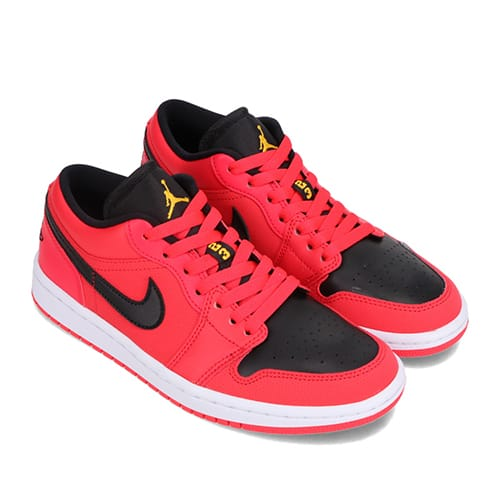 JORDAN BRAND WMNS AIR JORDAN 1 LOW SIREN RED/BLACK-WHITE-UNIVERSITY GOLD 21SP-I