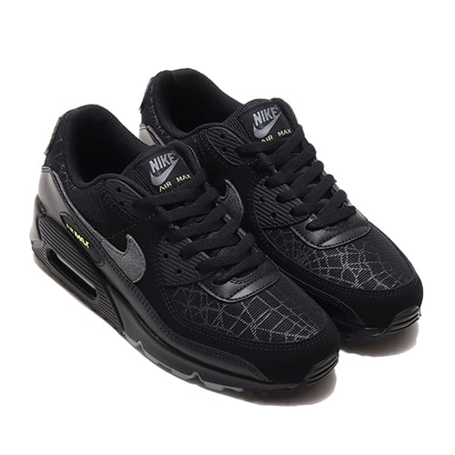 NIKE AIR MAX 90 BLACK/SMOKE GREY-LIMELIGHT 20HO-I