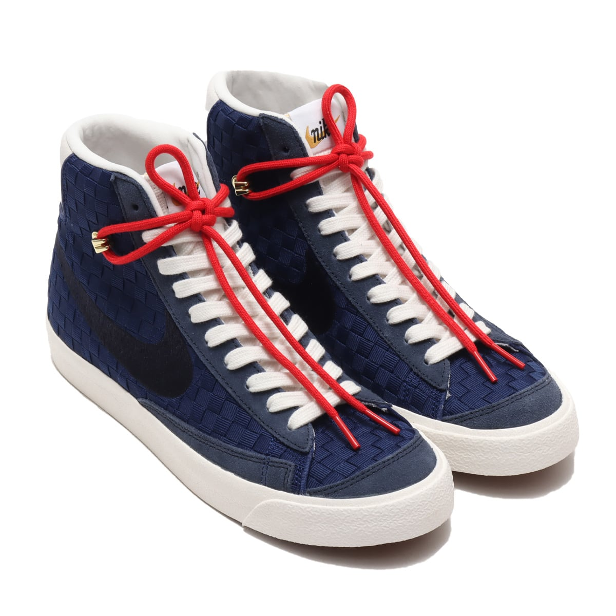 NIKE BLAZER MID '77 VNTG BLUE VOID/OBSIDIAN-BLACKENED BLUE-SAIL 21SP-I