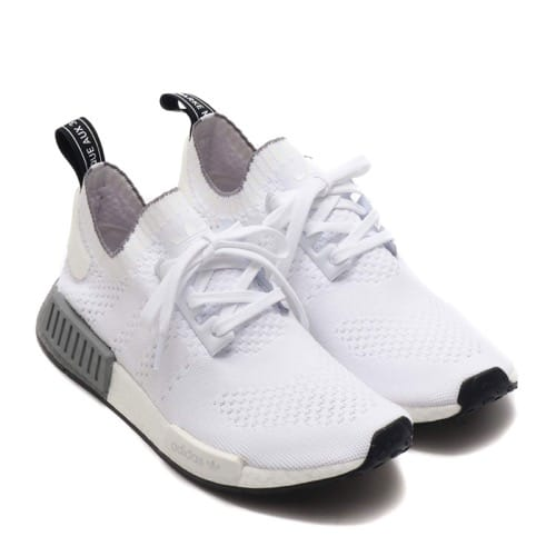 """""""adidas NMD_R1 PK RUNNING WHITE/RUNNING WHITE/GREY THREE 19FW-I"""""""