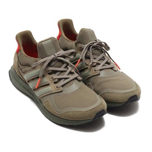"""""""adidas UltraBOOST S&L RAW KHAKI/TRASE CARGO/SOLAR RED 19FW-I"""""""
