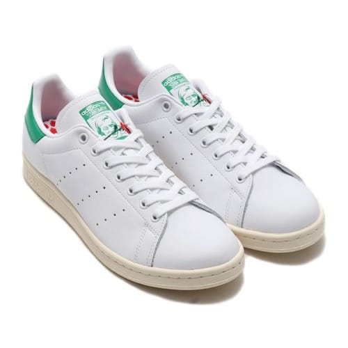 """""adidas STAN SMITH FOOTWEAR WHITE/FOOTWEAR WHITE/GREEN 20SS-I"""""