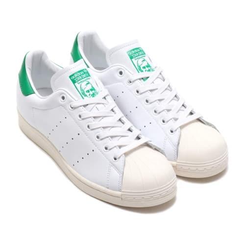 """""adidas SUPERSTAR FOOTWEAR WHITE/FOOTWEAR WHITE/GREEN 20SS-I"""""