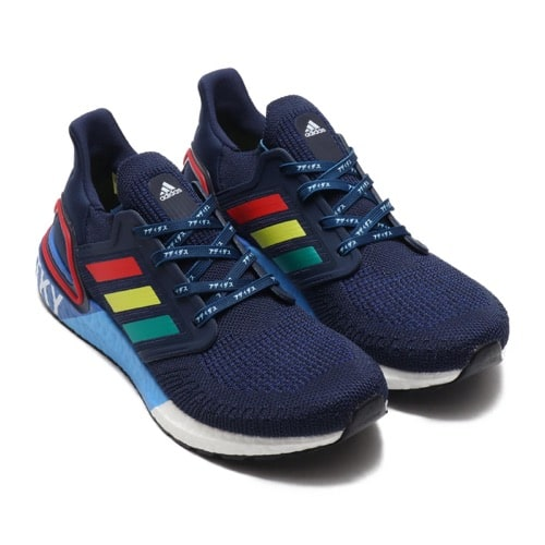 """""""""""adidas ULTRABOOST 20 CITY PACK HYPE COLLEGE NAVY/GLORY RED/SHOCK YELLOW 20SS-S"""""""""""