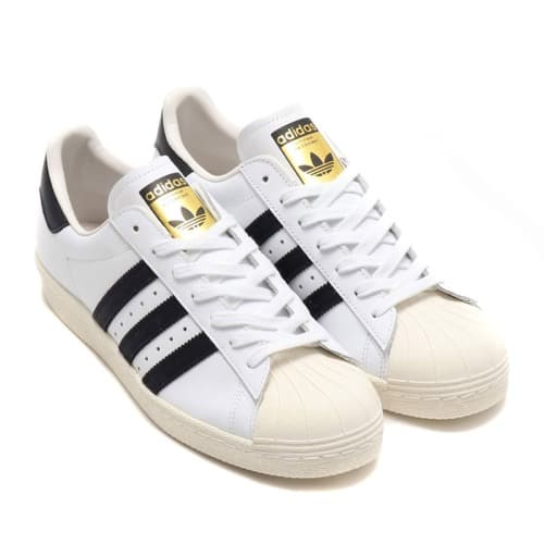 adidas SUPERSTAR 80s  WHITE/BLACK 19SS-I