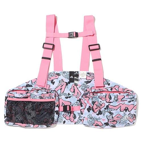 adidas W atmos pink Jenny Kaori カモ ユーティリティ ベスト