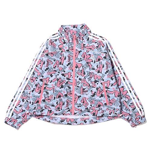 adidas W atmos pink x Jenny Kaori カモ ウィンド ジャケット
