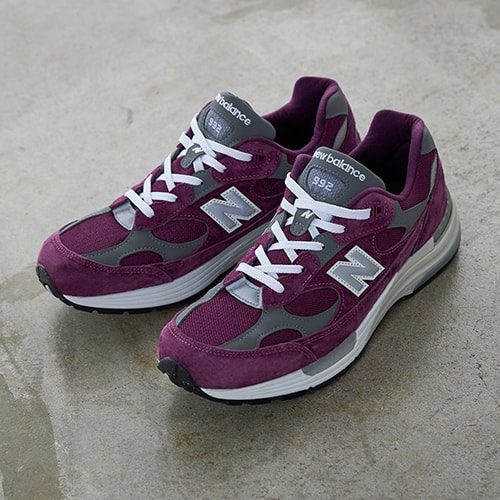 New Balance M992BA PURPLE 20FW-S