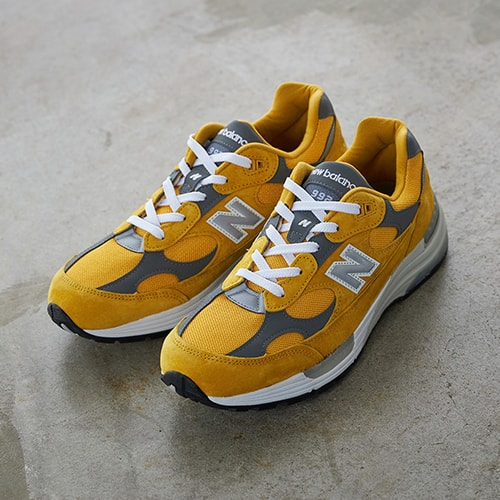 New Balance M992BB YELLOW 20FW-S