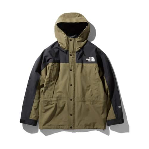 """""THE NORTH FACE MOUNTAIN LIGHT JACKET BURNT OLIVE 20SS-S"""""