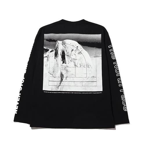 THE NORTH FACE L/S SLEEVE GRAPHIC TEE BLACK 21SS-I