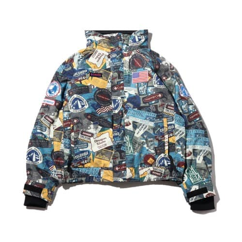 """Columbia x atmos lab Bugaboo™1986TextInterchangeJacket Sea Salt Pattern 19FA-S"""
