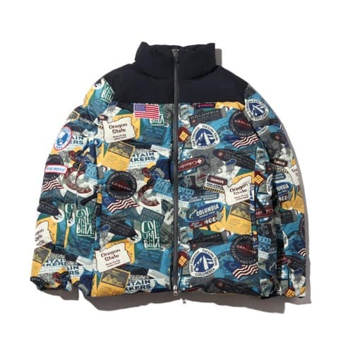 """Columbia x atmos lab KingstonCanal™TextJacket Sea Salt Pattern 19FA-S"""