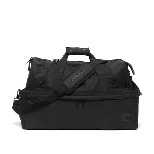 """SUPRA TWO-IN-ONE DUFFLE BAG BLACK 14HO-I"""