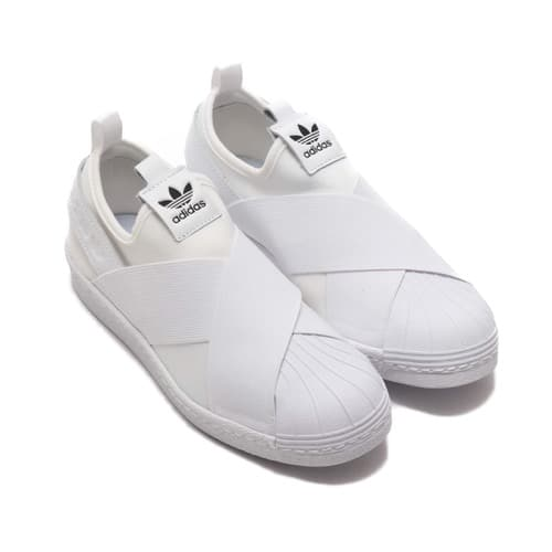 """adidas Originals SUPER STAR SLIP ON W  RUNNING WHITE/RUNNING WHITE/CORE BLACK"""