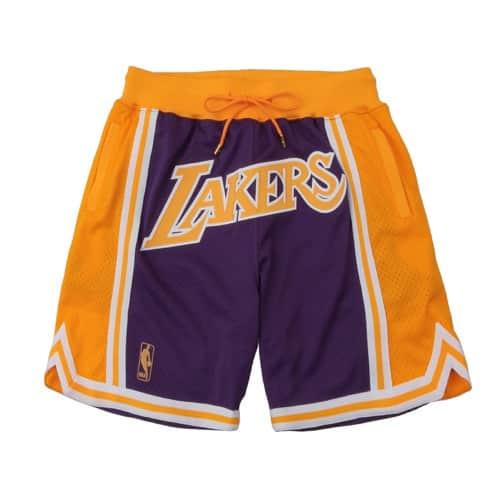 """""""""""Mitchell & Ness Just Don Swingman Shorts - LA Lakers PURPLE 20SU-S"""""""""""